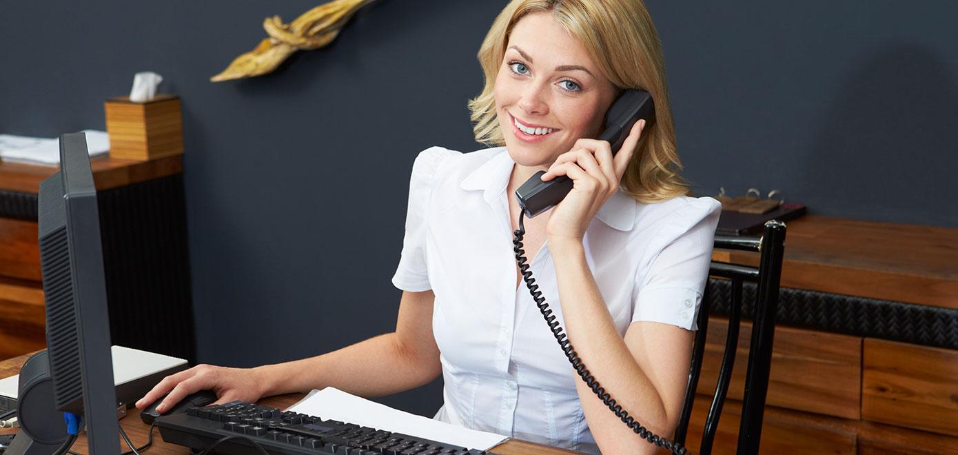 Assistente Administrativo e Rececionista